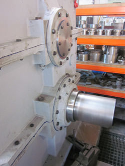 Inspection of a CONRAD STORK gearbox