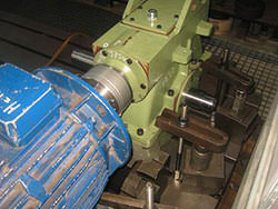 Repair of a CONRAD STORK gearbox