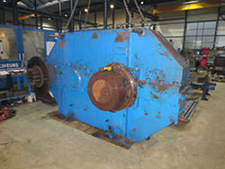Service on a DEMAG gearbox