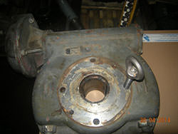 Repair of a EXEECO gearbox