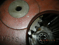 Reductor of Flender gearbox