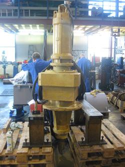 Flender zf 168 k4 gearbox inspection for Flender himmel motors usa