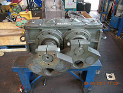 Inspection of a FRIEDRICH gearbox