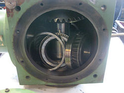 Repair of a GRAESSNER gearbox