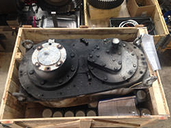 Service on a JAHNEL & KESTERMANN gearbox