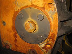 Repair of a KONE CRANES gearbox