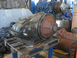 Repair of a KONE gearbox