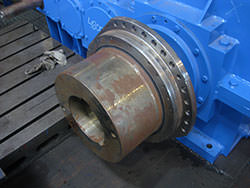 Inspection of a KUMERA gearbox