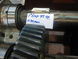 Spares for KUMERA gearbox