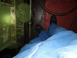 Kuypers gearbox inspection