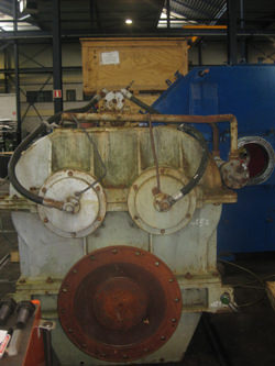 Inspection and repair by OEM of Kuypers propulsion gearbox