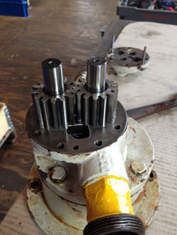 Repair by OEM of Kuypers gearboxes