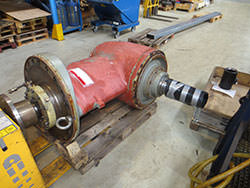Repair of a LIPS gearbox