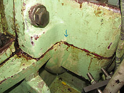 Inspection of a LOHMANN & STOLTERFOHT gearbox