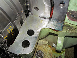 Repair of a LOHMANN & STOLTERFOHT gearbox