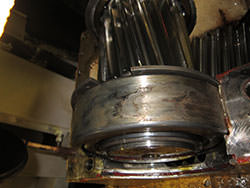 Inspection of a LOHMANN STOLTERFOHT gearbox
