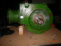 Repair of a NORD gearbox