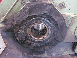 Repair of a PHB gearbox