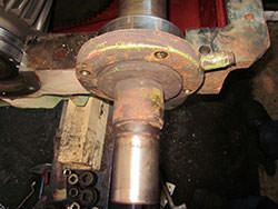 Service on a PHB gearbox