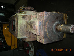Inspection of a PHB gearbox