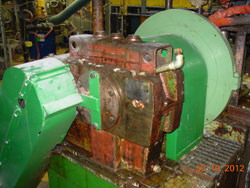 Repair of a PHILADELPHIA gearbox