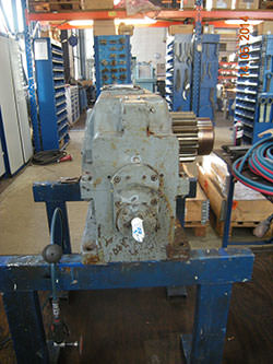 Repair of a PIV gearbox