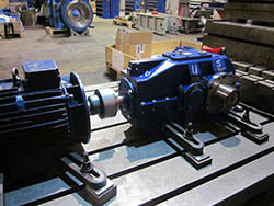 Inspection of a PIV gearbox