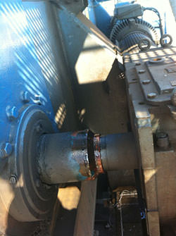 Service on a PIV gearbox
