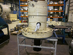 Repair of a RADEMAKERS gearbox