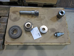 Inspection of a RADEMAKERS gearbox