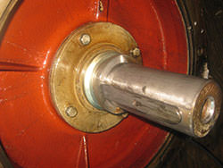 Service on a RADEMAKERS gearbox
