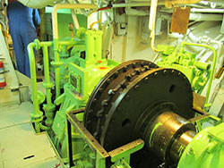 Inspection of a RENK gearbox