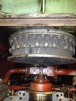 Repair of a RENK TACKE gearbox