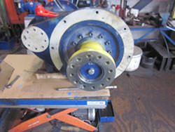 Repair of a REXNORD gearbox