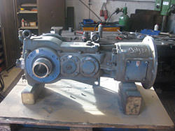 Repair of a SANTASALO gearbox