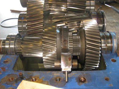 Santasalo gearbox repair   GBS International