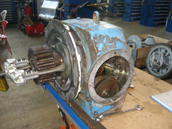 Sew gearbox