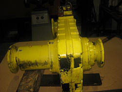 Repair of a VALMET gearbox