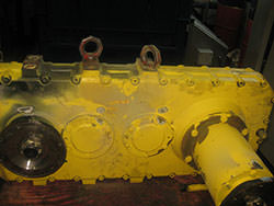 Service on a VALMET gearbox