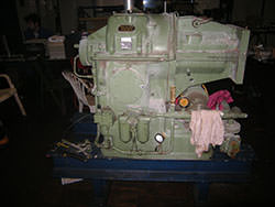 Service on a WERNER&PFLEIDERER gearbox