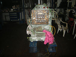 Repair of a WERNER&PFLEIDERER gearbox