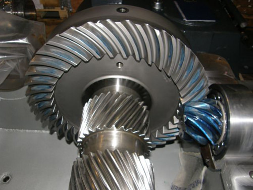 WGW gearbox revision