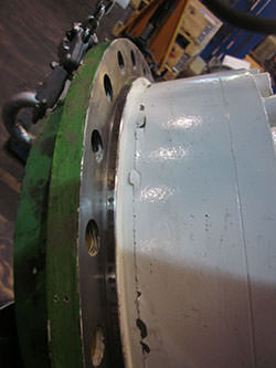 Repair of a ZOLLERN gearbox