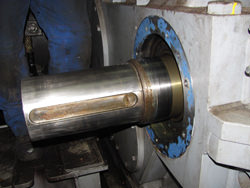 Inspection of a ZPMC gearbox