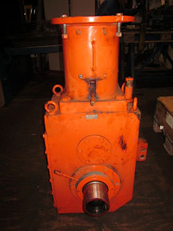 Repair of a ZPMC gearbox