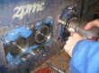 Inspection, repair and test run of gearbox of brand ZPMC
