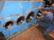 Visual inspection on gearbox of brand ZPMC FH1610.28.C3A