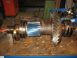 Exchanging 1 piece quadrant coupling gearbox Bierens