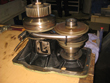 Inspection and revision on gearbox Conrad-Stork LTS-165-T-11C10