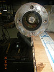 Inspection and revision on gearbox Exeeco IW8 H12